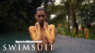 Kenza Fourati Takes It Off, Takes You To Her Wet Paradise   Intimates   Sports Illustrated Swimsuit