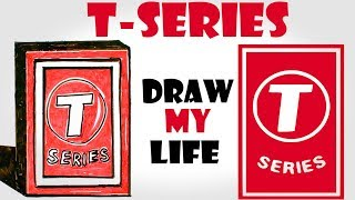 Draw My Life : T-Series  (How to defeat T-Series )