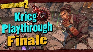 Borderlands 2   Krieg Reborn Playthrough Funny Moments And Drops   Finale