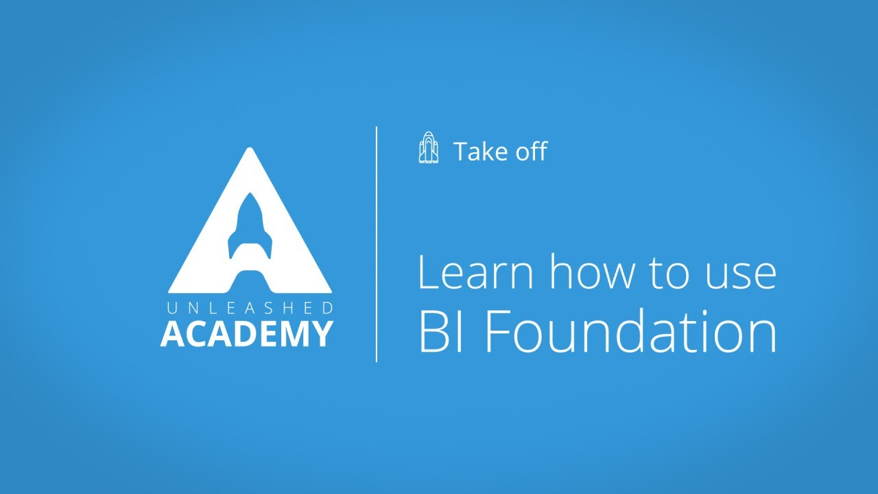 Learn how to use BI Foundation YouTube thumbnail image