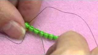Beading Video: Brick Stitch