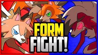 Rockruff  - (Pokémon) - Lycanroc: Dusk vs Midday vs Midnight   Pokémon Form Fight
