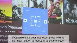 How to focus Capsule II
