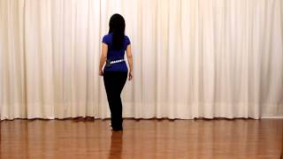 Doesn't Mean Goodbye - Line Dance (Dance & Teach in English & 中文)