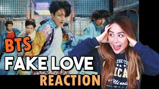 BTS 'FAKE LOVE' REACTION! (방탄소년단)