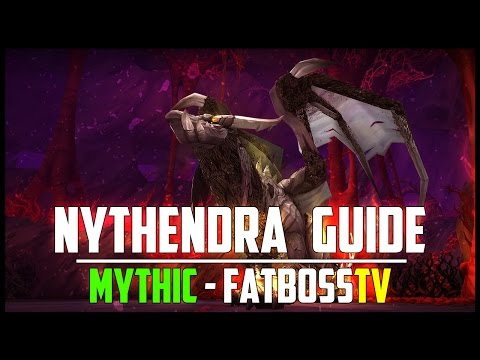 mythic nythendra how to clean stacks