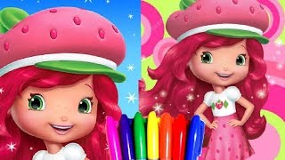 Strawberry Shortcake Berryfest Princess Coloring Book Page Fun For Kids To Learn Art