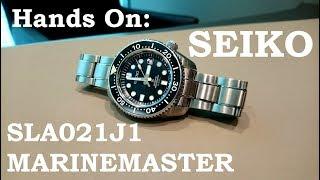Seiko Prospex Marinemaster MM300 / SLA021J1 / Hands On