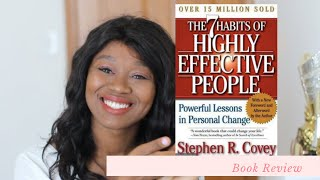 The 7 Habits of Highly Effective People, Reviews Book by Stephen Covey