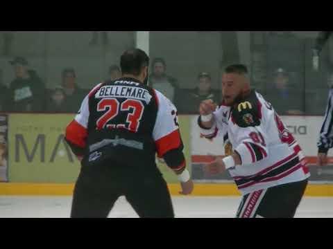 Thomas Bellemare vs. David Lacroix