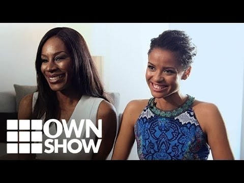 """, title : 'Gugu Mbatha‑Raw and Amma Asante """"Belle"""" Interview 