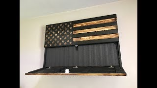 San Tan Woodworks Concealment Flag Install And Review