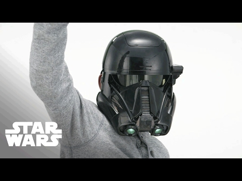 Star Wars Deutschland - 'Rogue One Elektronische Maske mit Stimmenverzerrer' Produktdemo-Video