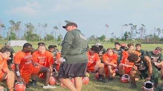 Mosley High School Football Team On The Anniversary Of Hurricane Michael