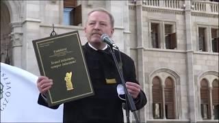 Trianon 100. évfordulója a Kossuth téren I.  – Patrubány Miklós és Drábik János beszéde