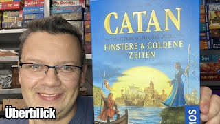 Catan Erweiterung Finstere Zeiten + Goldene Zeiten (Kosmos) - Must have 2er Spiel ab 10 Jahren
