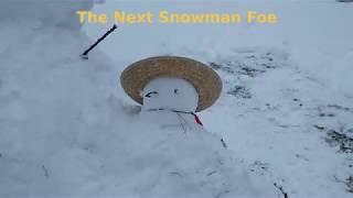 Snowman Hunting in Massachusetts