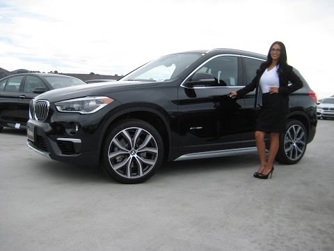 Super car video Next Generation 2016 BMW X1 Xdrive 28i in Black..