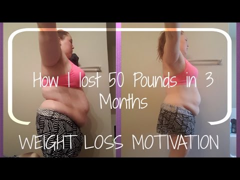 Video Weight Loss Motivation | How I Lost 50 pounds in 3 Months
