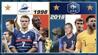 FRANCE 98 VS. FRANCE 2018, LE DUEL ! Class