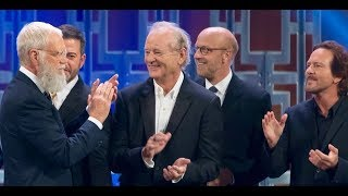 Best of Letterman's Mark Twain Prize (Norm, Bill Murray, Dave, Eddie Vedder)