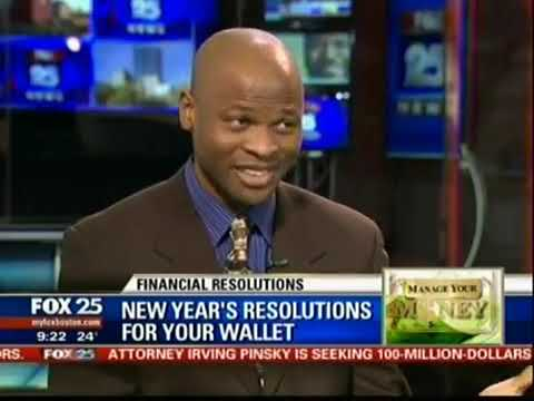 Ike Ikokwu on FOX 25 Boston Shares New Year's Resolutions For Your Wallet