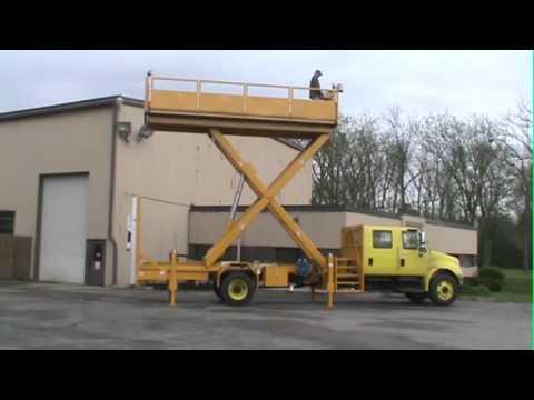 Aerial Lift Work Trucks | Lift-A-Loft
