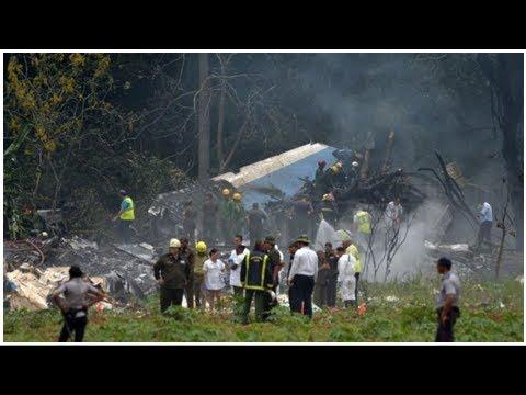 La superviviente del desastre aéreo en Cuba está en estado crítico por infecciones Global Now TV