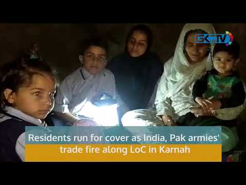 Residents run for cover as India, Pak armies' trade fire along LoC in Karnah