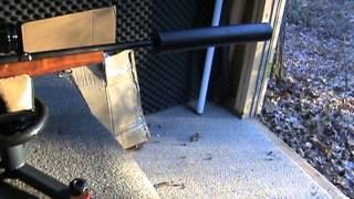 Home made suppressor demo for .30-06