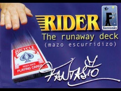 Rider The Runaway Deck by Fantasio, Mazo Escurridizo