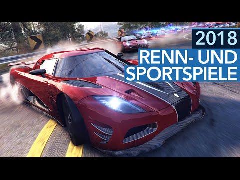 Renn- und Sportspiele 2018 - 5 Highlights für PC, PS4, Xbox One & Nintendo Switch