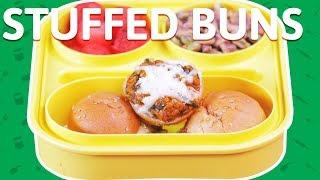 Vegetable Mini Burger Buns | Cheese Stuffed Sliders Recipe | Burger Recipe For Kids
