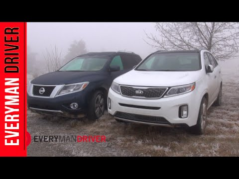 2014 Nissan Pathfinder vs Kia Sorento Off-Road Comparison