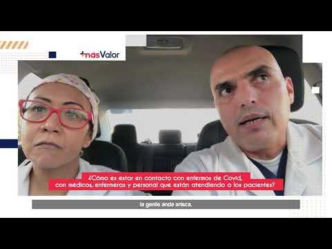 ¿Cómo es estar en contacto con enfermos de Covid, con medicos, enfermeras y personal que están atendiendo a los pacientes?