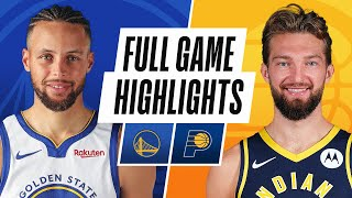 WARRIORS chez PACERS | POINTS SAILLANTS DU JEU COMPLET | 24 février 2021