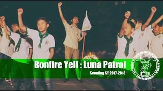 SFAMSC Bonfire Yell 2017 2018 Luna Patrol