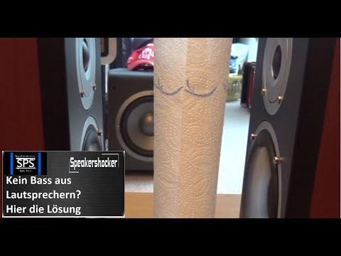 Kein Bass aus Lautsprechern Lautsprecher richtig anschließen so gehts