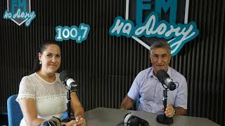 Министр спорта Самвел Аракелян гость ФМ-на Дону