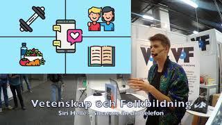 Siri Helle – VoF på Bokmässan 2019