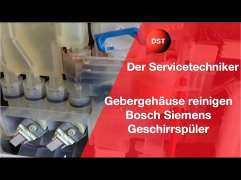 Gebergehäuse reinigen Siemens, Bosch, Imperial, Küppersbusch, Neff, Balay