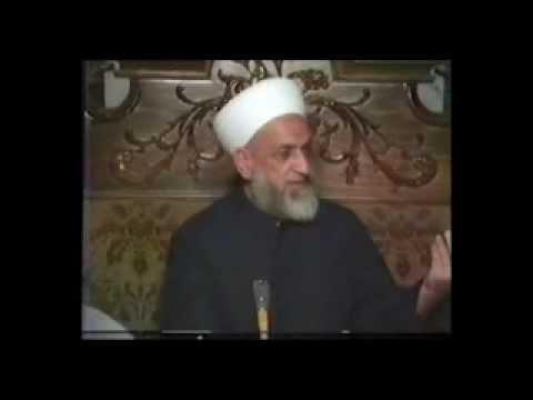 الشيخ أحمد كفتارو - اسألوني عن قميصي اللي لابسه | The Sheikh Ahmad Kuftaro
