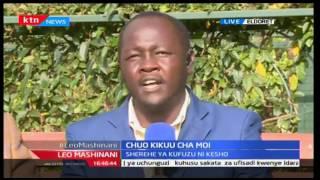 Leo Mashinani: Sherehe ya kufuzu yafanyika Chuo kikuu cha Moi Eldoret, Septemba 22 2016