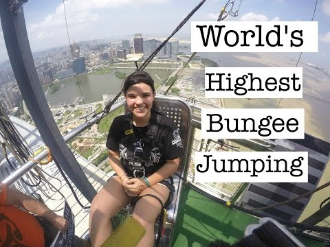 MY FIRST TIME BUNGEE JUMPING