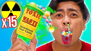 World's SOUREST Candy x100  - Challenge (Toxic Lvl: 2,000)