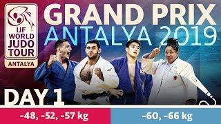 Judo Grand-Prix Antalya 2019: Day 1