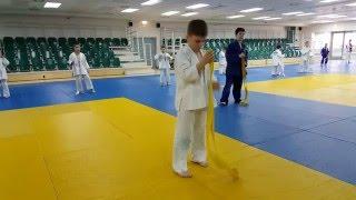Judo for children .Работа по заданию..Дзюдо для детей. Часть №2
