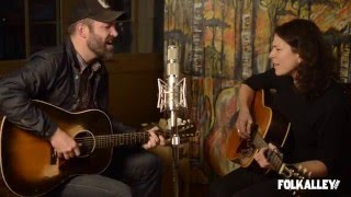 Folk Alley Sessions Jeffrey Foucault And <b>Kris Delmhorst</b>  Hurricane Lamp