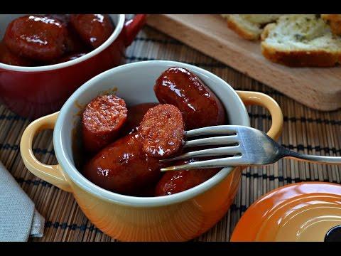 Chorizos a la sidra (receta facil)