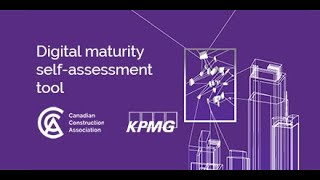 Digital maturity self assessment tool